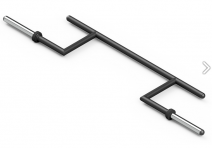 Marblo Sport MF-G011 OLYMPIC CAMBERED BAR - SportKiosk, г. Сургут, пр. Мира 33/1 оф.214
