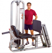 Жим ногами Body Solid PRO CLUB LINE с весовым стеком 140 кг Body Solid - SportKiosk, г. Сургут, пр. Мира 33/1 оф.214